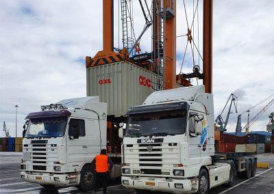Μεταφορά Container